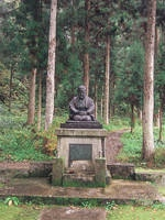瓜生岩子の像・写真