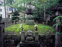 蒲生氏郷の墓・写真