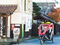 ベロタクシー蔵のまちガイド・写真
