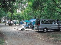 上野沼やすらぎの里キャンプ場・写真