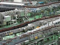 アサヒビール茨城工場(見学)・写真