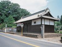 宍戸藩陣屋表門・写真