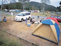 石岡市つくばねオートキャンプ場・写真