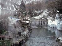 湯西川温泉・写真