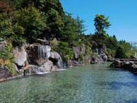 滝のあるつり堀 那須高原清流の里・写真