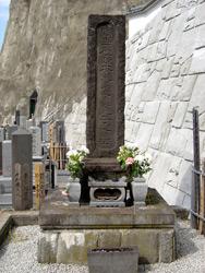 お龍の墓(信楽寺)