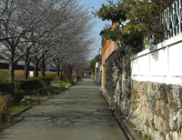 日根野道場跡