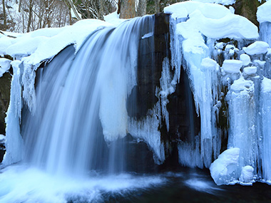 Oirase Ice falls