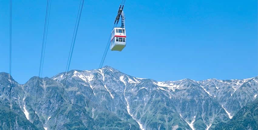 新穗高纜車(高山市)