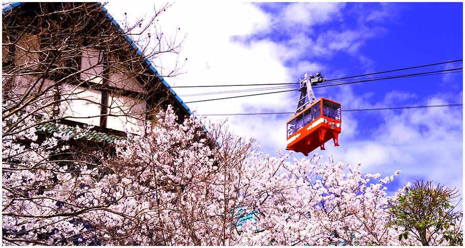 Sumaura Ropeway(Kobe Hyogo Prefecture)