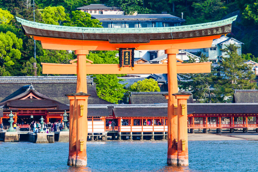 UNESCO World Heritage Site: Itsukushima Shrine