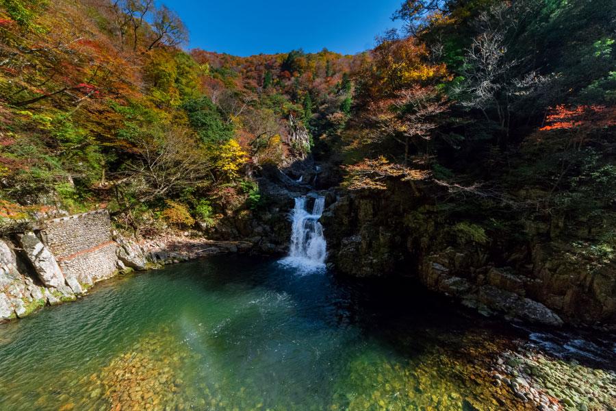 Sandan-kyo Gorge