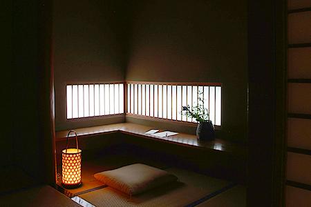 Windows in the Kumoi room provide soft lighting