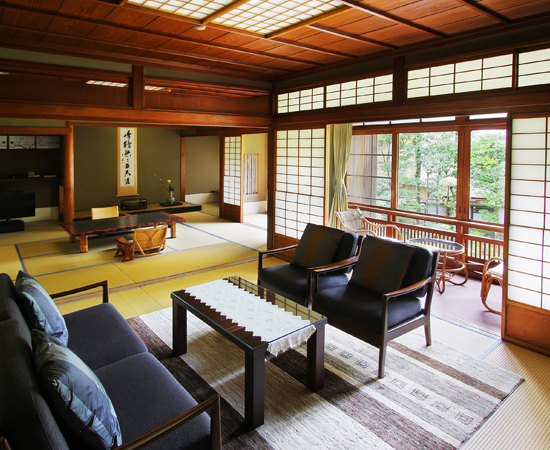 The interior of the Matsu room.