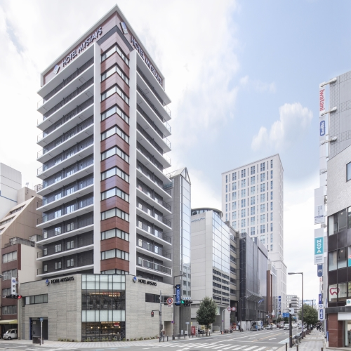 禦堂筋本町我的住宿飯店(2017年12月13日開幕)