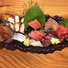 Sashimi Platter at Ajito