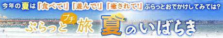 今年の夏は茨城で「食べて!」「遊んで!」「癒されて!」