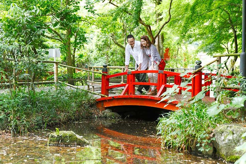 万葉公園橋