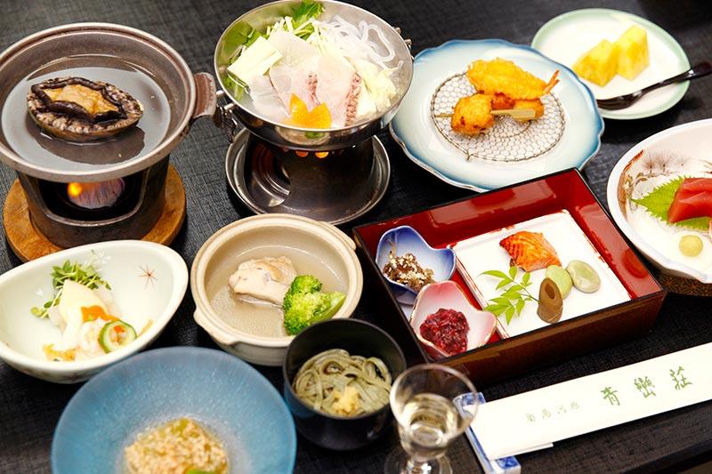 青巒荘 食事