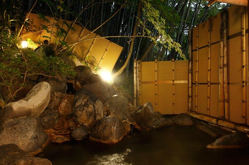 青巒荘 温泉