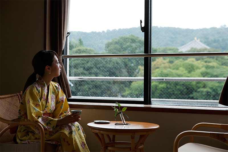 ホテルニューわかさの奈良町情緒和室