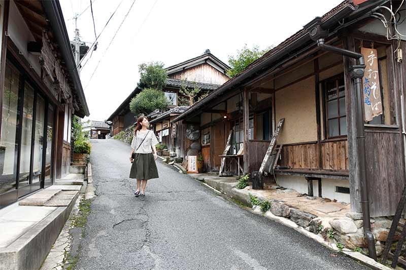 吉野山の門前町
