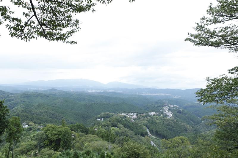 吉野山の風景