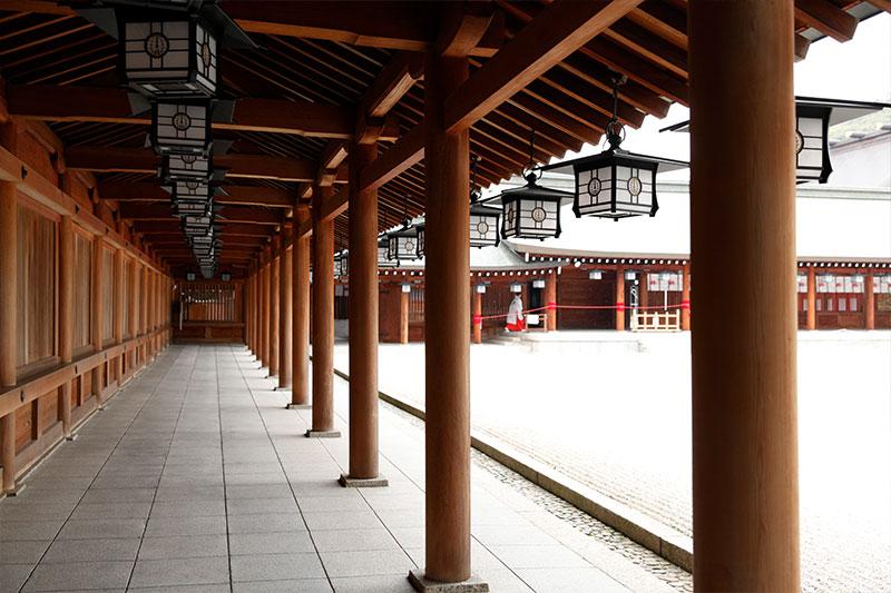 橿原神宮廻廊