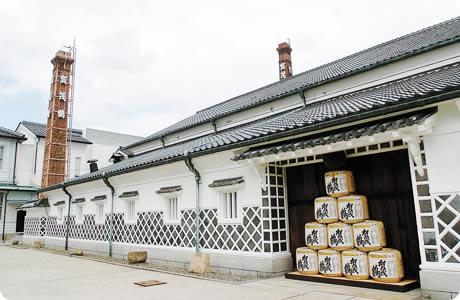 西条酒蔵通り(東広島市)