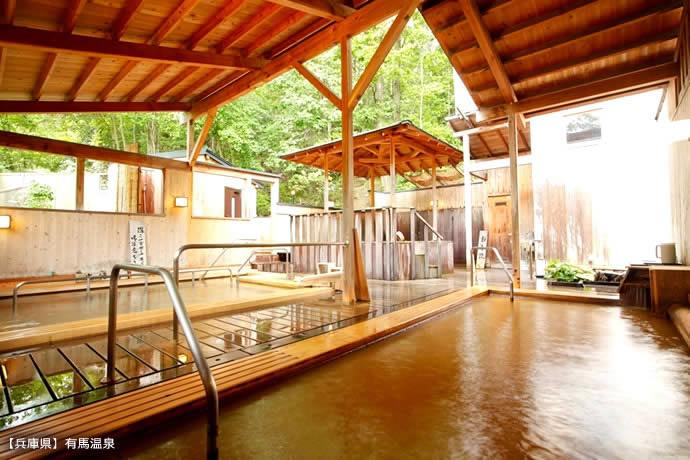 語り継がれる名湯 日本三名泉