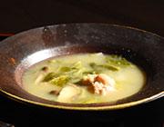 料理2:鶏鍋の塩レモン味