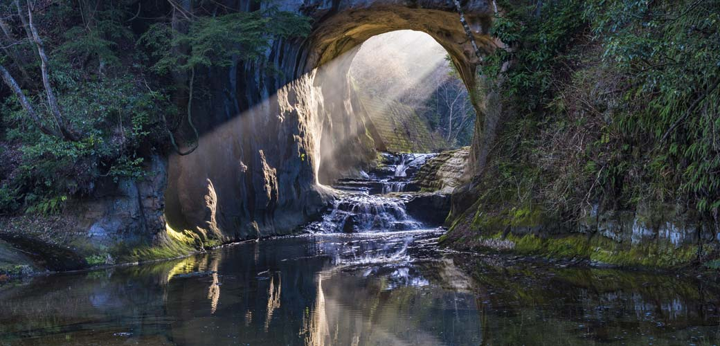 濃溝の滝(君津市)