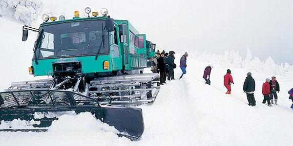 雪上車体験【すみかわスノーパーク】