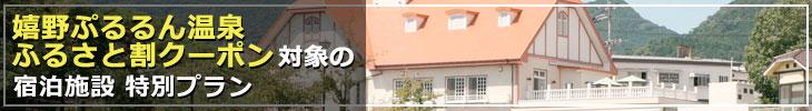 クーポン対象の宿泊施設 特別プラン