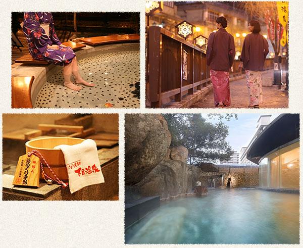 日本三名泉 下呂温泉