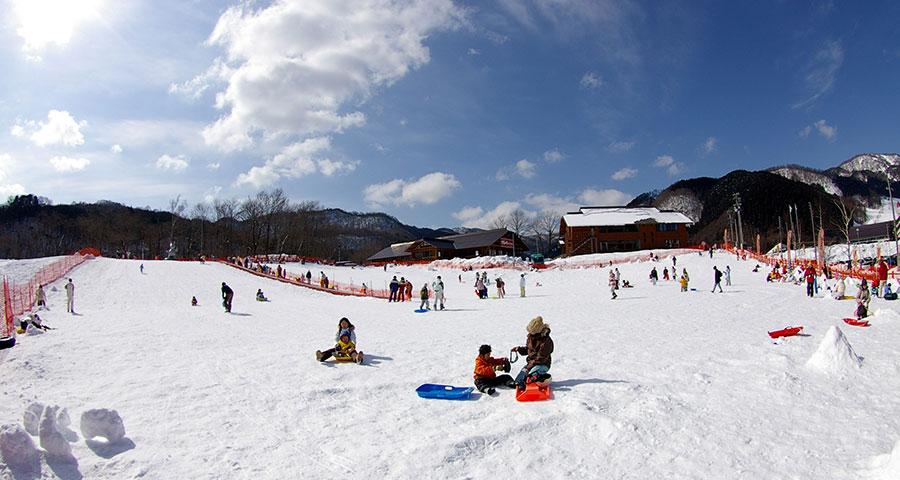 ぎふのスキー場