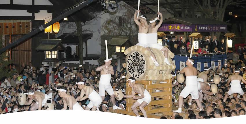 古川祭・起し太鼓(飛騨市)