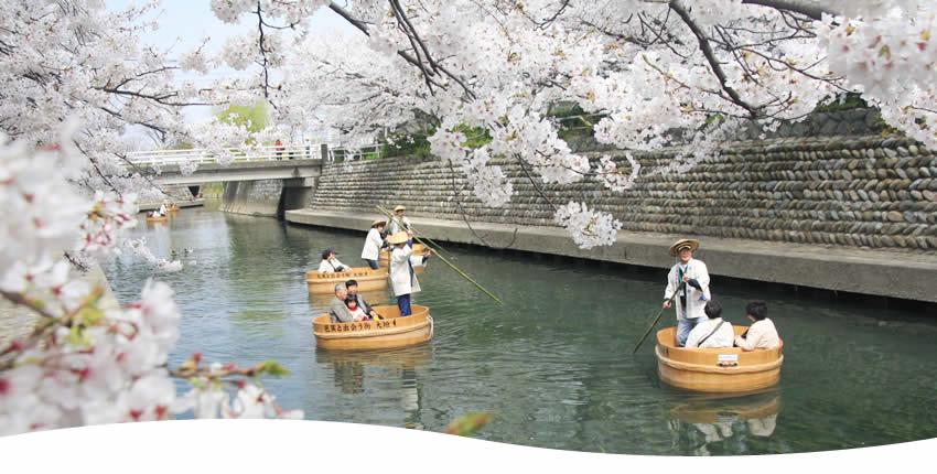 水の都おおがきたらい舟(大垣市)