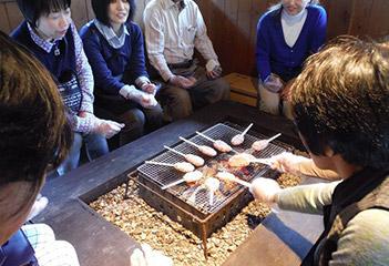 五平餅作り体験
