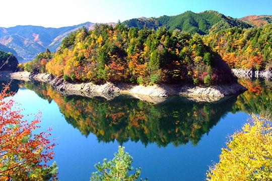 岩屋ダム-東仙峡金山湖-