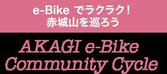 e-Bike でラクラク!赤城山を巡ろう AKAGI e-Bike Community Cycle