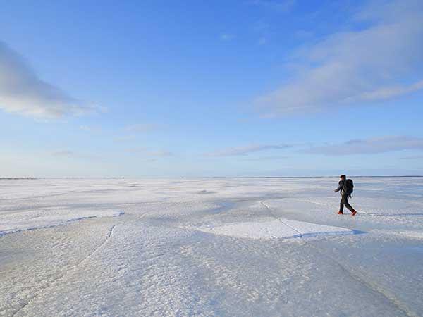 氷平線ツアー