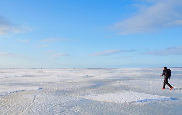 氷平線ウォーク