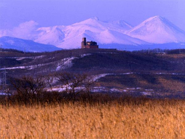 晩秋の釧路湿原をトレッキング