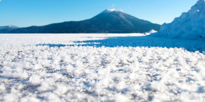 阿寒湖 フロストフラワー