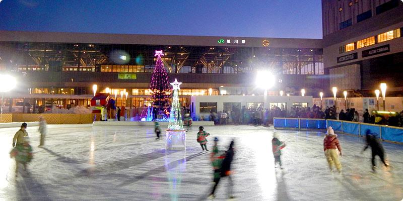 無料で遊べるスケート場