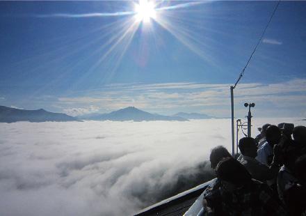 早起きして雲海へ