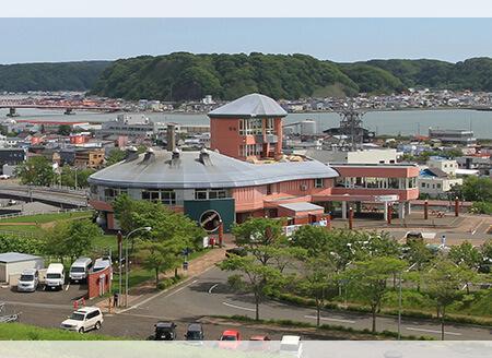 【厚岸駅】厚岸味覚ターミナルコンキリエ