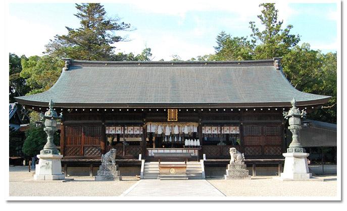 日本最古の神社!伊弉諾神宮(いざなぎじんぐう)