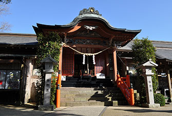 新田神社/可愛山陵